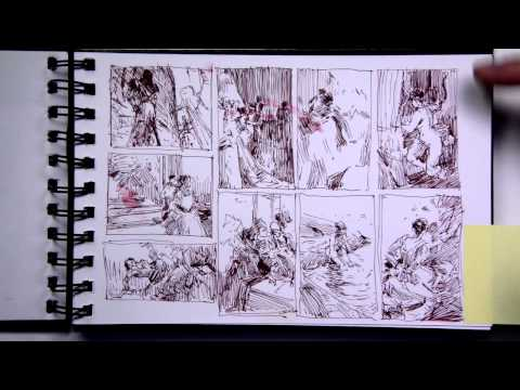 John Park sketchbooks: part 1 of 2