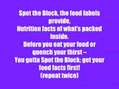 Dishin' The Nutrition Rap (with Lyrics) video