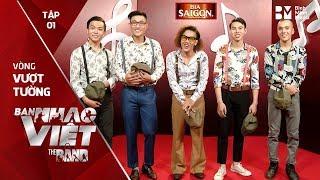 Về Đâu Mái Tóc Người Thương - Nét Nhạc Buồn // Tập 1 vòng Vượt Tường | The Band - Ban Nhạc Việt 2017