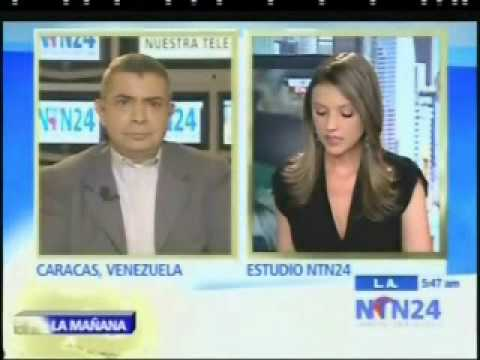 GENERAL ANGEL VIVAS ENTREVISTADO POR  NTN24