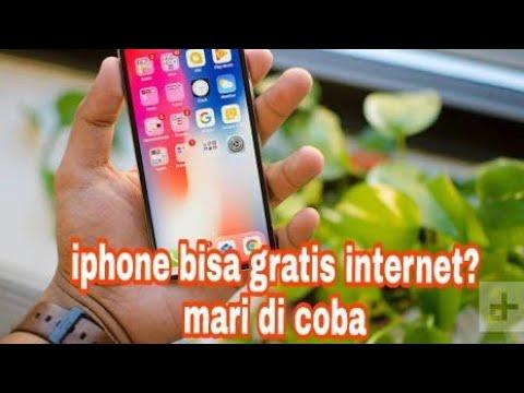 Cara internet gratis di iphone selamanya