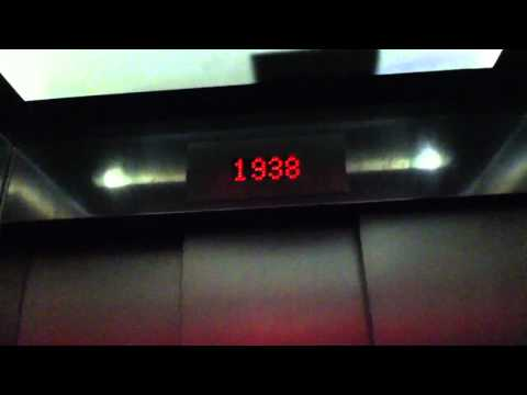 """Time Travel"" elevator at the London Transport Museum"