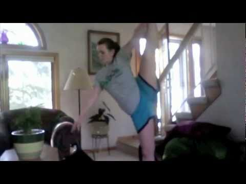 Dance Tricks - Leg Extension Help! Image 1