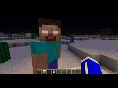 How to Spawn Herobrine 1.7.10 (new) MINECRAFT GLITCH!! REALLY WORKS!!