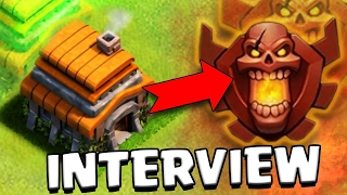CLASH OF CLANS - RECORD ! interview EXCLUSIVE d'un HDV 6 en CHAMPION ! Astuce /secret rush