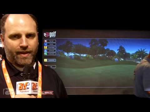 CEDIA 2013: Full Swing Golf Brings the Widescreen Champion Line