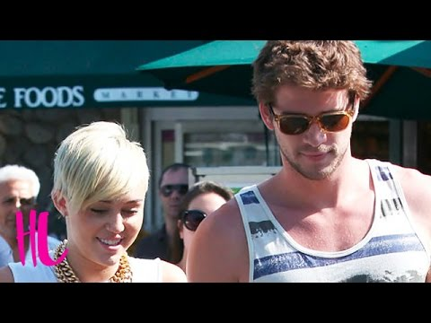 Miley Cyrus & Liam Hemsworth First Public PDA Date After 2nd Engagement