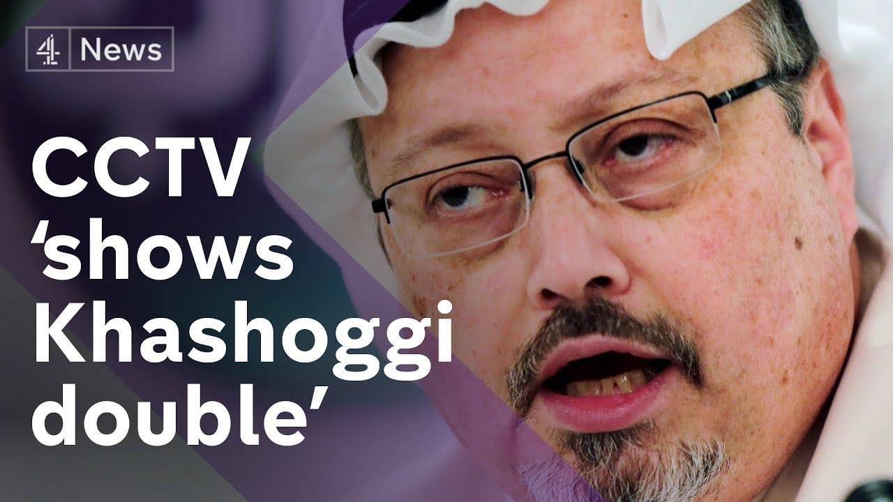 CCTV footage appears to show Khashoggi double