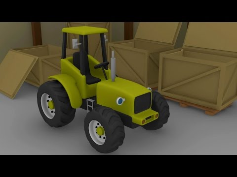 Tractor For Kids | Tractors and other fairy tales | Formation and Uses | Bajki Dla Dzieci - Traktory