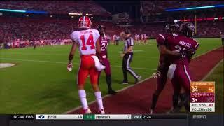 2017 USC vs Clemson - Steven Montac Interception