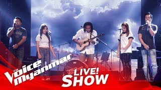 "Download Lagu TeamLynn: ""အေဖနဲ႔အေမေနတဲ့အိမ္"" - Live Show - The Voice Myanmar 2018 Gratis STAFABAND"