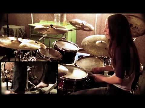 PANTERA - DOMINATION - DRUM COVER BY MEYTAL COHEN