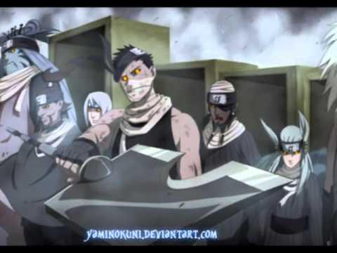 guerra ninja naruto shipuuden