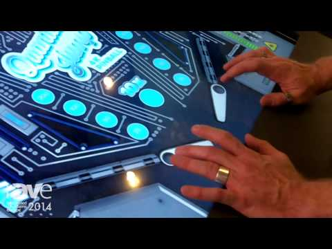 ISE 2014: Lang Demonstrates 4K Interactive Display System With Pinball Machine