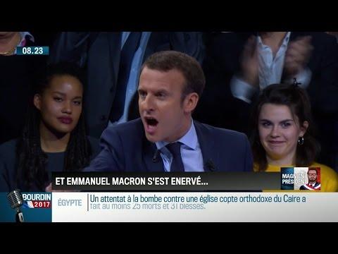Le Clash Mémorable de Macron - Nouveau Président Français