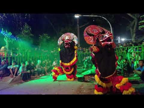 Simo barong Ngamuk gara gara penonton - New Sabdo Manggolo live Petilasan Angling Darma Dermo Kediri