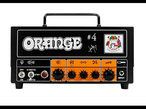 Announcing the Jim Root #4 Terror Head and 2X12 Speaker Cab from Orange Amps