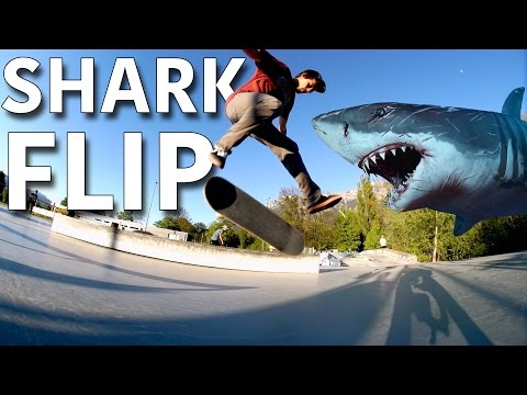 Shark Flip! (Invented 2017) - Jonny Giger