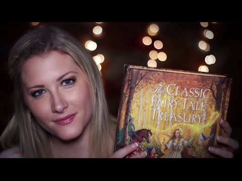 Bedtime Fairy Tales 3 - Binaural ASMR - Soft Spoken/Whisper, Reading, Page Turning, Tapping