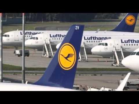Lufthansa Cancels 1,350 Flights in Pilot Strike