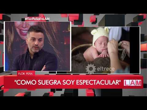 Flor Peña habló de su rol como suegra: