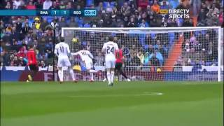 Real madrid 4 - 1 Real Sociedad Liga BBVA 2015 - Directv Sports