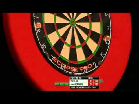 Taylor v Gerwen | 4/4 | FINAL | Premier League Darts 2013
