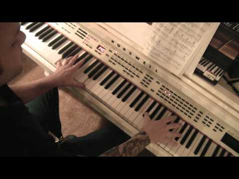 Undertaker Theme Song Keyboard Tutorial video