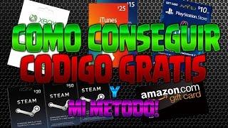 COMO CONSEGUIR CÓDIGO GOOGLE PLAY DE 15€ CONSEGUIRLO GRATIS Y MI MÉTODO DE USO! - FREE GIFT CARDS