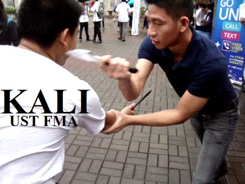 UST Filipino Martial Arts Group ( Kali / Arnis / Eskrima ), Espana, Manila, Philippines