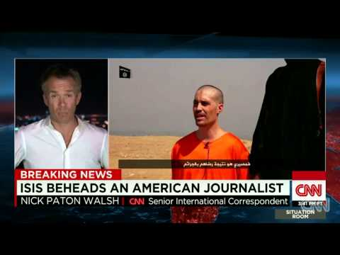 Video Shows ISLAMIC STATE BEHEADING U.S. Journalist James Foley