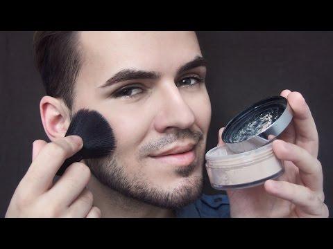 Ako na púdrový minerálny make-up  How To Apply Powder Mineral Foundation