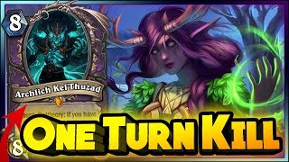 Hearthstone - ONE TURN KILL! WITCHWOOD WTF Moments - Hearthstone Daily Funny Rng Moments