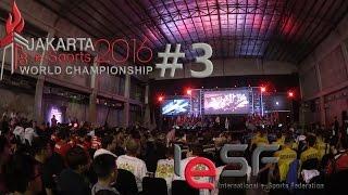 IeSF World Championship 2016 Jakarta / Indonesia - VLOG #3 | VivaAlex