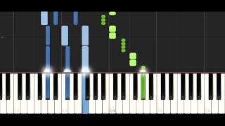 Zedd, Alessia Cara - Stay - PIANO TUTORIAL