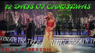 12 DAYS OF CHRISTMAS | Kelly Clarkson - Underneath the Tree (Day 1)