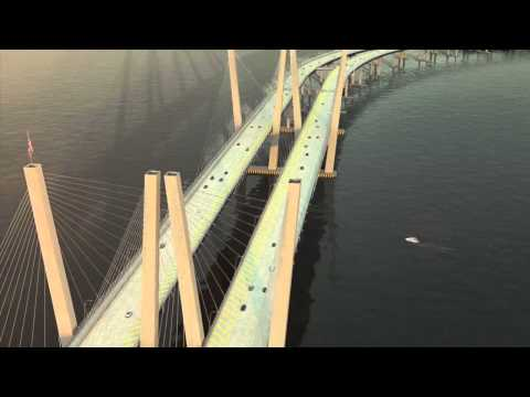 New NY Bridge – Conceptual Rendering