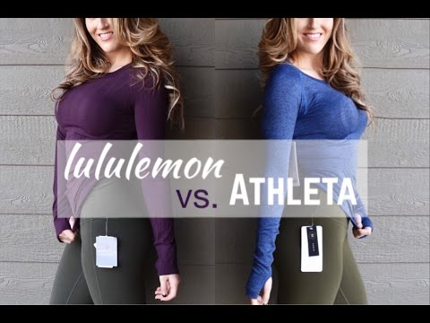 Lululemon vs Athleta Haul and Review