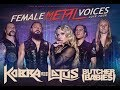 KOBRA AND THE LOTUS - Female Metal Voices Tour 2018 - Europe