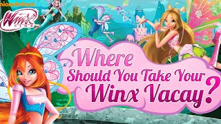 Winx Club Movie Game - Where Should You Take Your Winx Vacay (NEW Winx Bloomix Game for Girls)