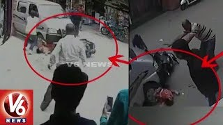 Exclusive : Drunken Car Driver Hit Two Wheeler And Drags Woman Upto 100 Meters | Mount Abu