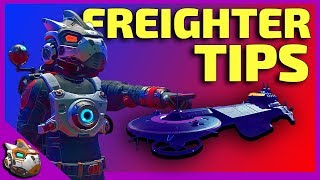 How to use Freighters | Freighter Tips No Man's Sky 2019