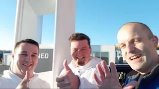 E-Cannonball Update 2. Ladestation Interview mit Kurt 28 Michael Hyundai Kona Elektro Uffenheim