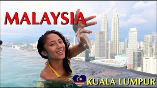 2 Amazing Days In KUALA LUMPUR | FOOD, TOURING, THE FACE SUITES