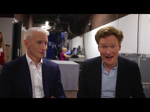 Cannes Lions TV Meets: Conan O'Brien and Anderson Cooper