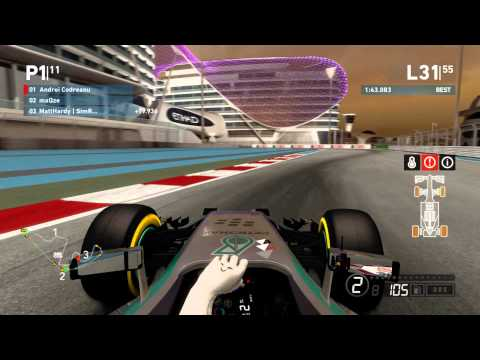 F1 Racing Community Season 03 - Round 19 - Abu Dhabi GP - Race