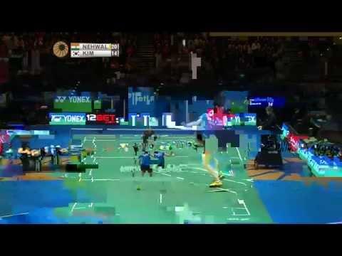 Saina Nehwal v Kim Hyo Min | WS R16 MATCH 6 - YONEX All England Open 2015
