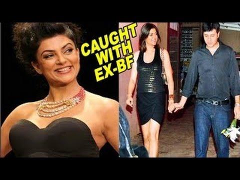 Sushmita Sen Snapped With Her Ex Boyfriend | Gossip video