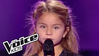 Tra te e il mare - Laura Pausini | Valentina | The Voice Kids France 2017 | Blind Audition