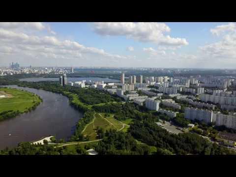 Район Строгино, Москва - DJI Mavic, 4k